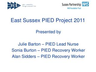 East Sussex PIED Project 2011