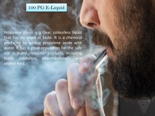 100 PG E-Liquid   Ichor Liquid