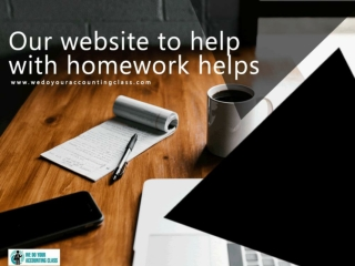 Our website to help with homework helps