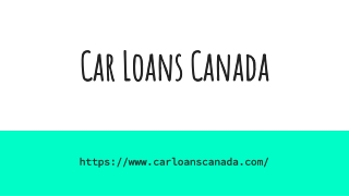 How to get a Bad Credit Car Loan in Canada