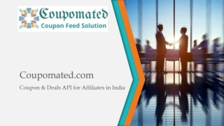 Coupomated Coupon and Cashback Website Development India