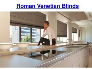 Roman Venetian Blinds