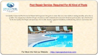 Best Pool Service in Orlando, Longwood, Maitland Winter Park and Lake Mary