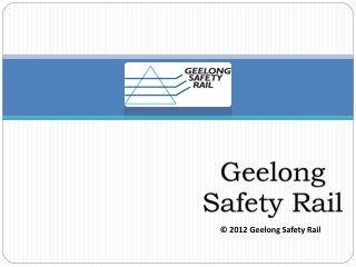 Safety rails in Geelong