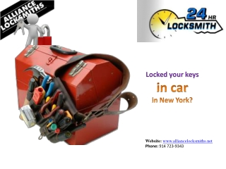 Locked Your Keys in Car in New York