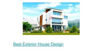 EXTERIOR DESIGNER IN NOIDA