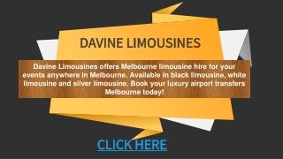 Limo Hire Melbourne   Melbourne Limo Hire