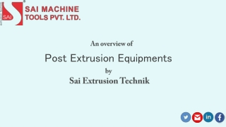 Manufacturer, Exporter of plastic processing Machinery including Socketing and Post Extrusion Equipment.