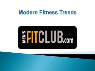 Modern Fitness Trends