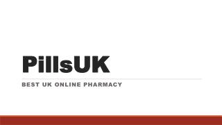 PillsUK - Best UK Online Pharmacy