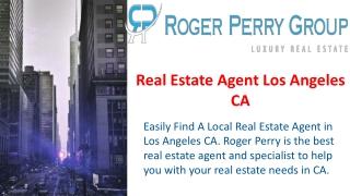 Real Estate Agent Los Angeles CA