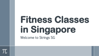Fitness Classes in Singapore | Strings SG