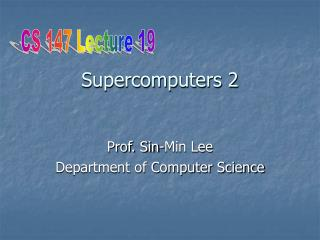 Supercomputers 2