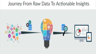 JOURNEY FROM RAW DATA TO ACTIONABLE INSIGHTS