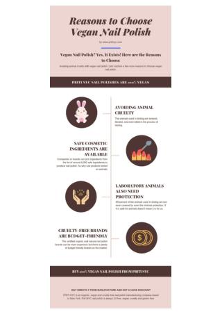 Reasons to Choose Vegan Nail Polish