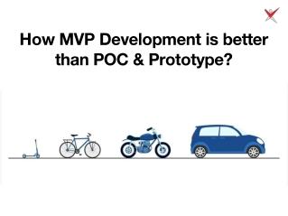 How MVP Development is better than POC & Prototype?