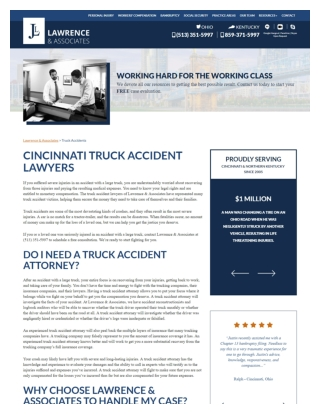 Cincinnati Truck Accident Lawyers