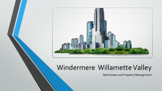 Albany Local Real Estate | Windermere Real Estate | Willamette Valley | Property Management
