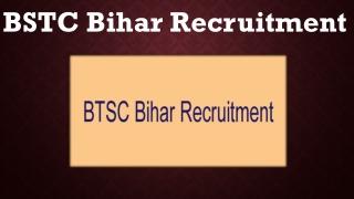 BTSC Bihar Recruitment 2019 - Apply For 9299 Staff Nurse & Tutor Jobs