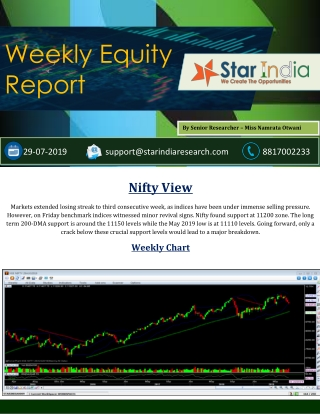 StarIndia Market Research, Share Market Tips, Financial Advisor