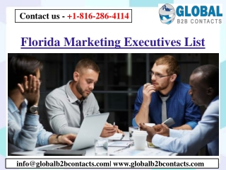Florida Marketing Executives List