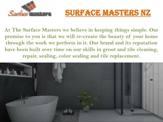 Leaking Shower Repairs Auckland | Surface Masters