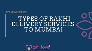 Same Day Rakhi Delivery Services In Mumbai
