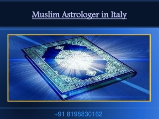 Muslim Astrologer in Italy and Liverpool 91 8198830162