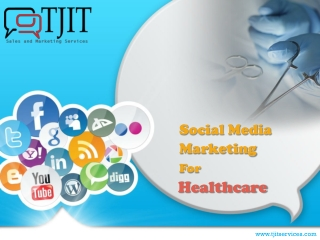 tjit services-healthcare industry-social media