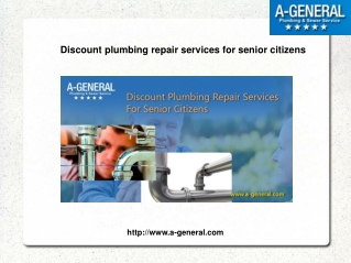 Employ A-General 24 Hour Emergency Plumbing Service For Plumbing issues