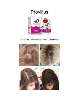 Provillus - Hair Regrowth Treatment For Women