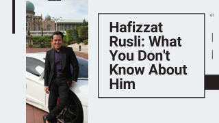 Hafizzat Rusli_ What You Don't Know About Him