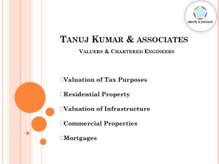 Valuation of Infrastructure