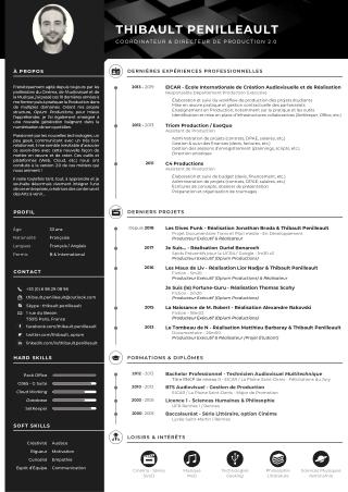 CV Thibault Penilleault - Production
