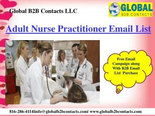 Adult Nurse Practitioner Email List