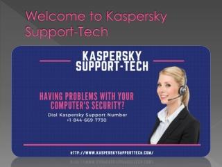Kaspersky Support tech