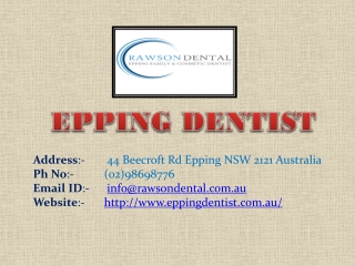 Should You Get Your Wisdom Tooth Removed at Epping Dentist Clinic?