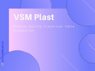 Waterproof Cable Glands Supplier- VSM Plast