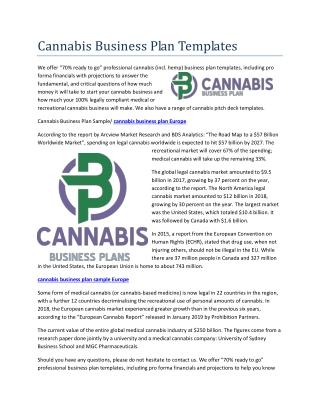 cannabis business plan New Zealand