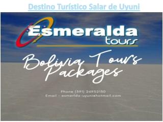 Destino Turístico Salar de Uyuni