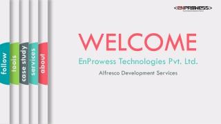 Alfresco Development Services - EnProwess Technologies