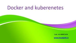 Docker Online Training | Docker Training