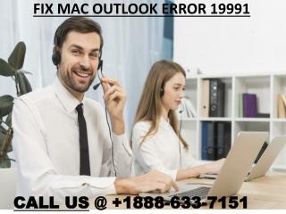 Fix Mac Outlook Error 19991