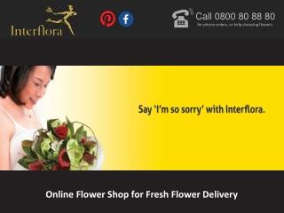 Online Flower Shop for Fresh Flower Delivery