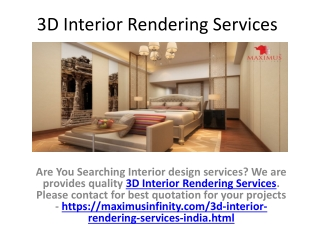 Interior Design Services India