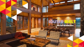 """Make your dream project with """"Souter Built"""""""