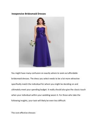 cheap junior bridesmaid dresses uk