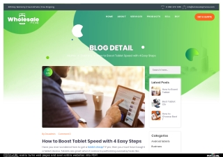 How to Boost Tablet Speed with 4 Easy Steps
