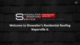 Residential Roofing Contractor In Naperville, Il