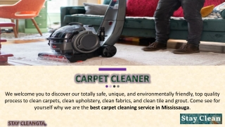 Choose the Best Carpet Cleaning